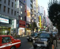 Shinjuku Shopping area
