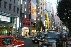 Shinjuku Shopping area