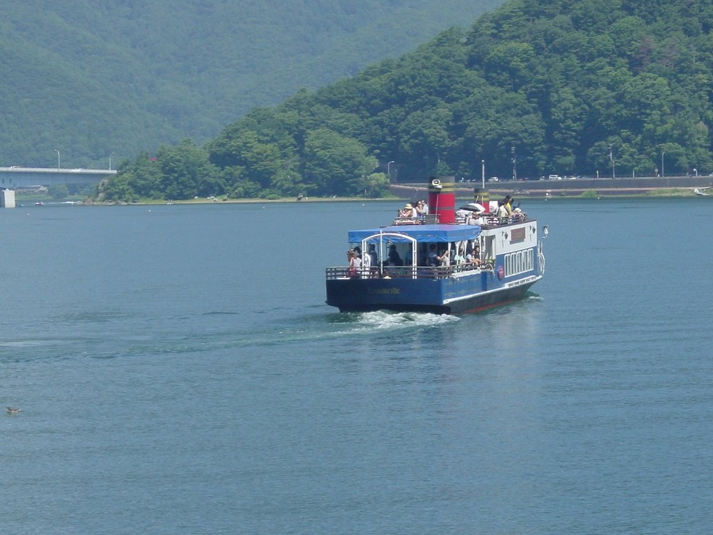 FUJI-Mt.kawaguti yuran boat v-1 2015.7